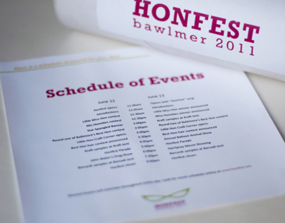 HonFest 2011 Mailer Package