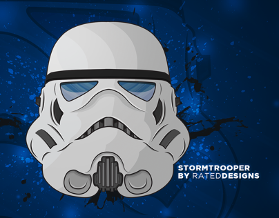 Stormtrooper Illustration By Rated