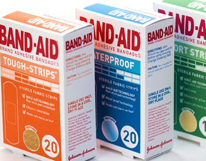 Band-Aid Packaging Redesign