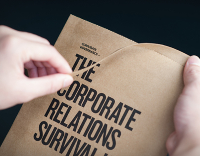 Diageo 'The Corporate Relations Survival Kit'