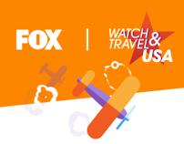 FOX - WATCH & TRAVEL USA