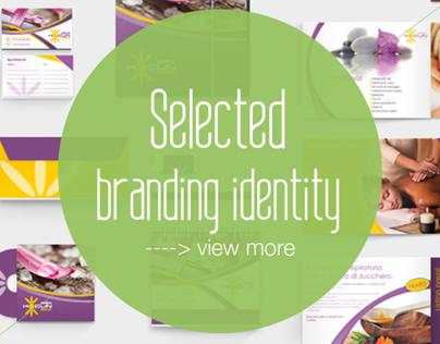 Selected Brand Identity - immagine coordinata