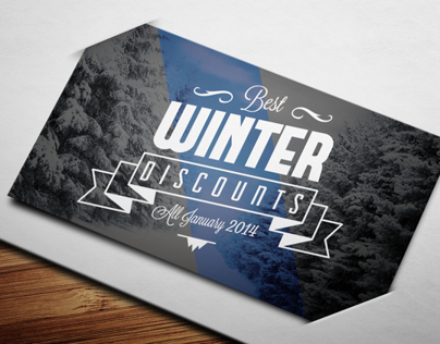 Winter Sales Card II