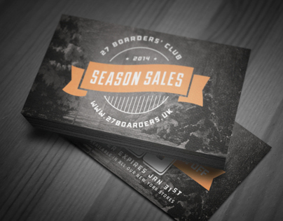 Winter Sales Card III