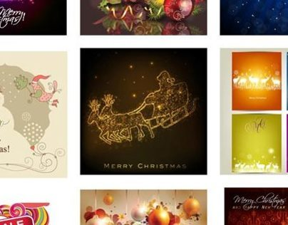 100+ Abstract Free Vector Merry Christmas Backgrounds f