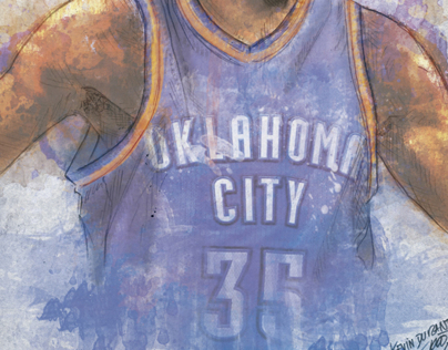 Kevin Durant (Digital Art)