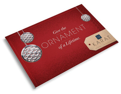 14 Karat Holiday Mailer 2014
