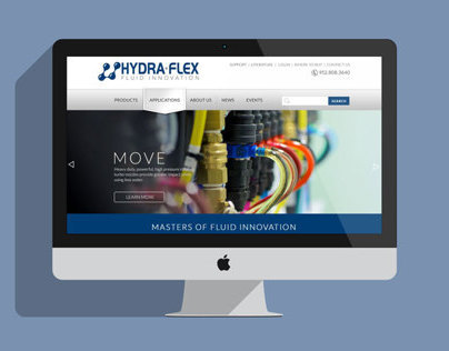 Hydra-Flex Website Redesign