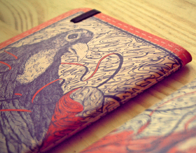 Birds / sketch book pocket