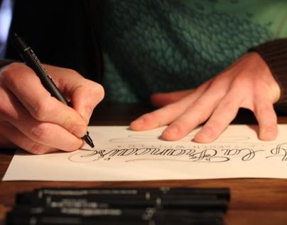 Making of a logo - À la française