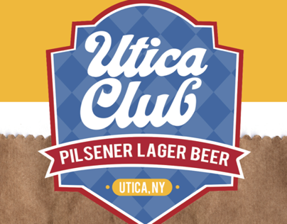 Utica Club Promotional Campaign