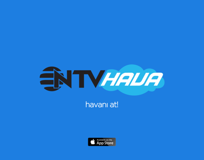 NTV Hava iphone App Promo