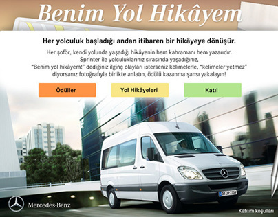 Mercedes-Benz My Road Story (Sprinter) Facebook App