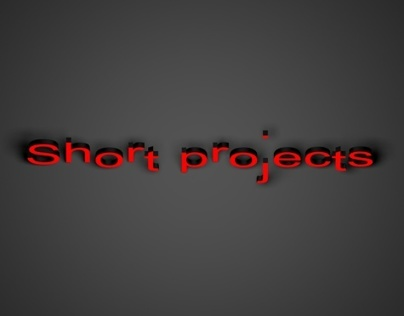 Short projects