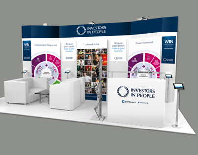 Investors in People Exhibition Stand