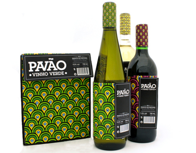 'Pavão' Wine - Redesign