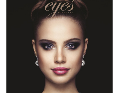 Eyes Magazine featuring Xenia Tchoumitcheva