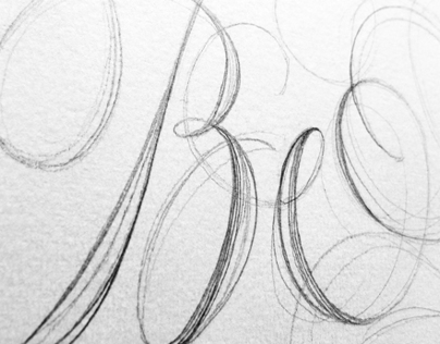 Lettering for the Cover of Colophon