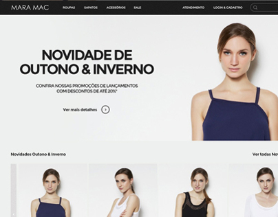 Clothing e-commerce