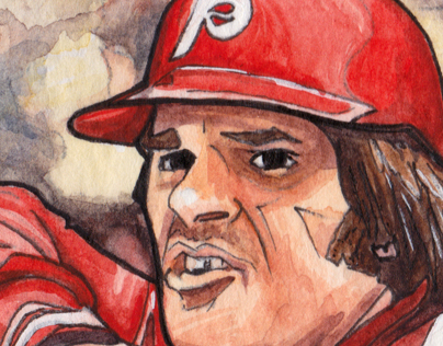 Hand made Pete Rose Baseball Card
