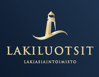 Corporate & Brand Identity - Lakiluotsit Law Office