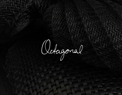 Octagonal Millinery Business Identity