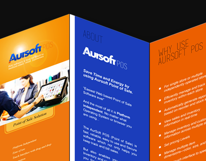 Corporate Identity Design for Aursoft.com