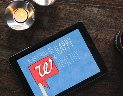 Logo Animation: Walgreens