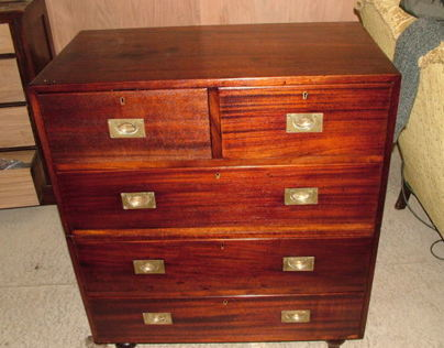 Restoration Project Campaigne Mahogany Chest of Drawers