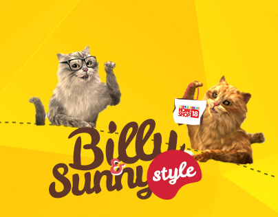 Billy and Sunny social campaign