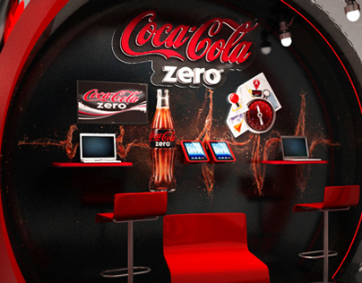 Coca-Cola Zero (City World Treausre Hunt). Booth..