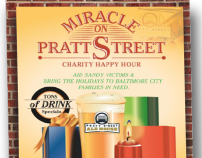 Posters for Pratt Street Ale House Events