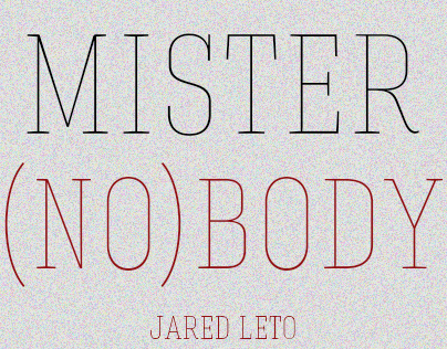 Mr. Nobody - Poster Alternativo