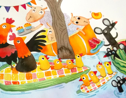 Childrens Books | Floating Market 2014
