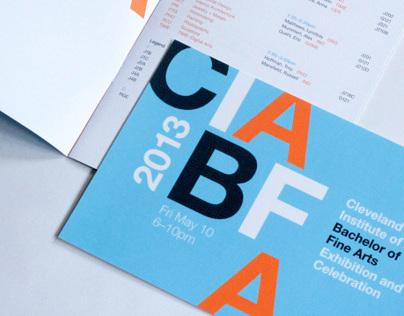 2013 BFA Identity