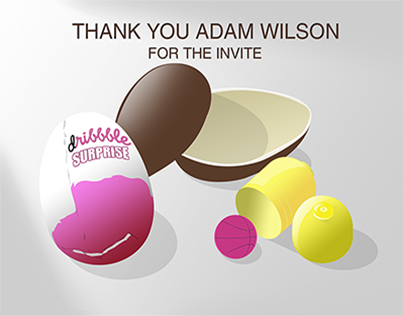 Thanks Adam Wilson for Dribbble invite