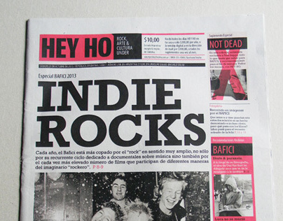Diseño Editorial - HEY HO Diario