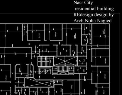 nasr city residental building redesign
