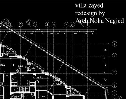villa zayed redesign