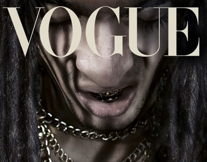 Vogue cover shoot