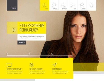 Amilia – Multipurpose Template
