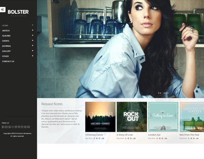 Bolster WordPress Theme