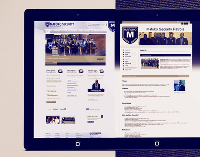 Mafoko Security - Website Upgrade