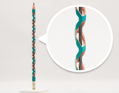 Brancusi to Infinity (Miniature Carved Pencil)