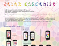 Mobile Education Game of Color Matching