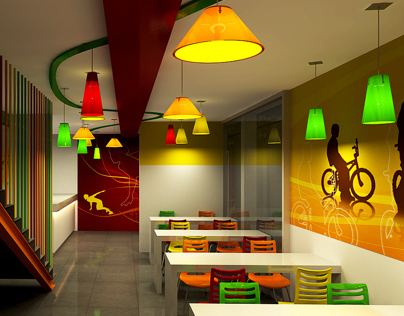 Fast food restaurant - Contest 02