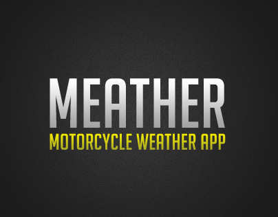 School: Weather App - Motorcycle weather