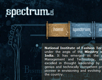 Spectrum 2010 - Website
