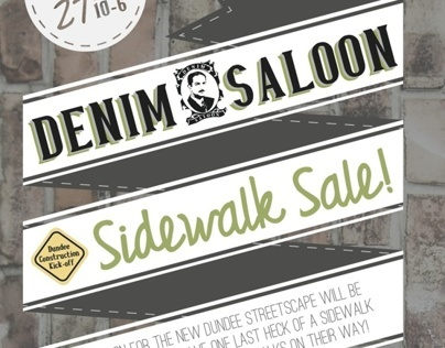 Sidewalk Sale @ Denim Saloon