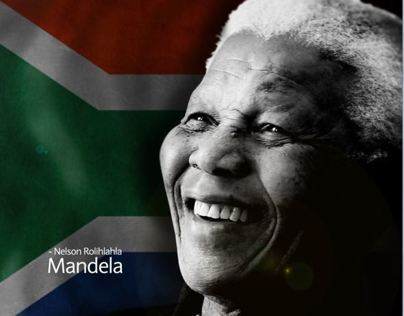 Tribute to Nelson Rolihala Mandela. True inspiration